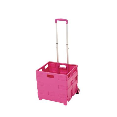 Register With Shopping Cart Pink Kasir Kasiran Troley Belanja 35kg capacity lightweight container trolley available in pink