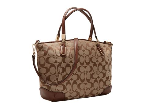 Coach Kelsey Small Signature Khaki coach signature small kelsey in gold light gold