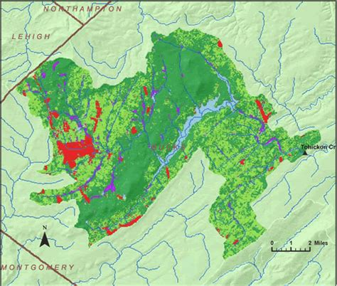 Interior Land Summary Of Ground Water Recharge Tohickon Creek Near