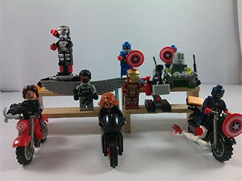 New Arrival Lego 30447 Captain America 39 S Motorcycle Bps106 supak 174 iron winter soldier captain america black widow