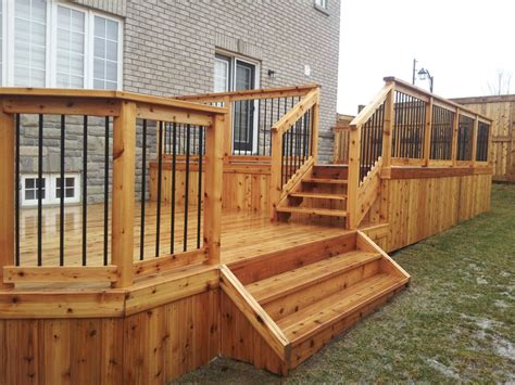 residential decks eagle fencing