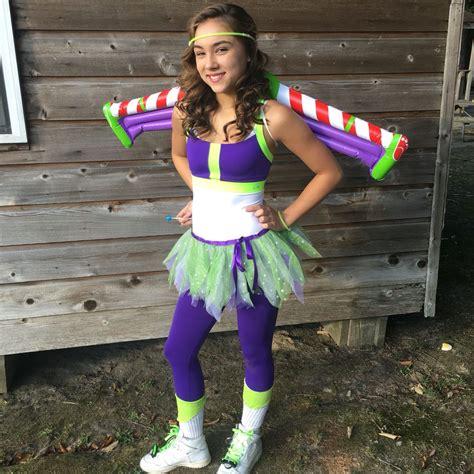 diy homemade teen toy story buzz light year halloween