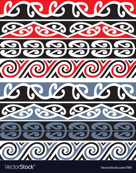maori clipart maori designs royalty free vector image vectorstock
