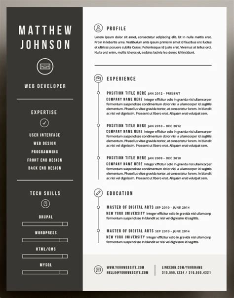 stunning resume format exles beautiful resume templates f resume