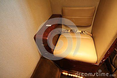 small private jet toilet seat stock photography image