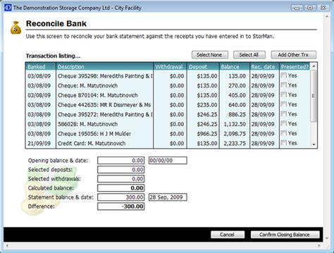 Bank Reconciliation Template   out of darkness
