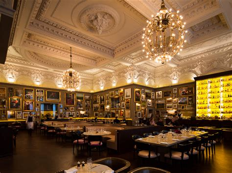 Chandelier Dining Room by Review Of London British Restaurant Berners Tavern By Andy