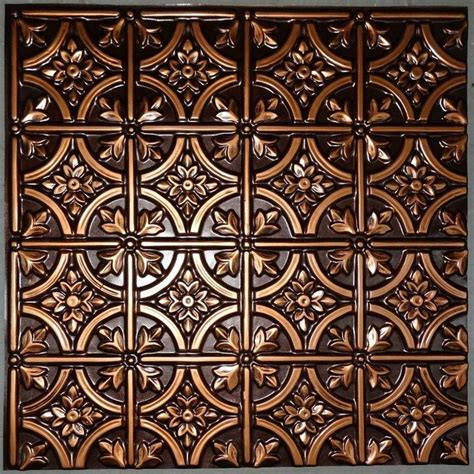 brass ceiling tiles details about ceiling tile faux tin brass copper silver
