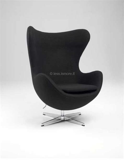 Sedia Uovo by Egg Chair Arne Jacobsen 1957 Less Is More