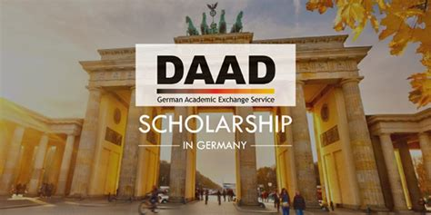 Daad Scholarship For Mba In Germany by German Daad Fully Funded Postgraduate Scholarships Mladiinfo