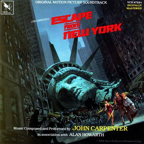 theme music escape from new york escape from new york the official john carpenter