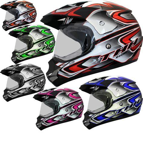 thh motocross thh tx 13 3 dual sport motocross helmet secret sale