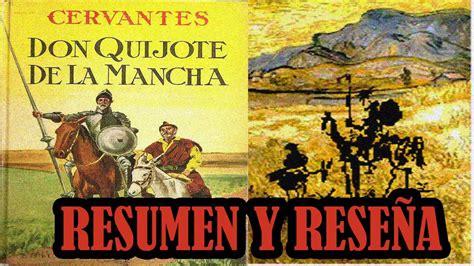 libro cervantes don quijote de la mancha miguel de cervantes saavedra resumen rese 241 a y an 225 lisis libro