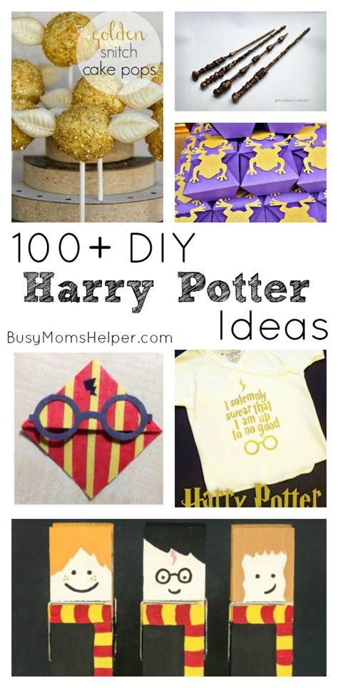 diy decorations printable 100 diy harry potter ideas busy helper