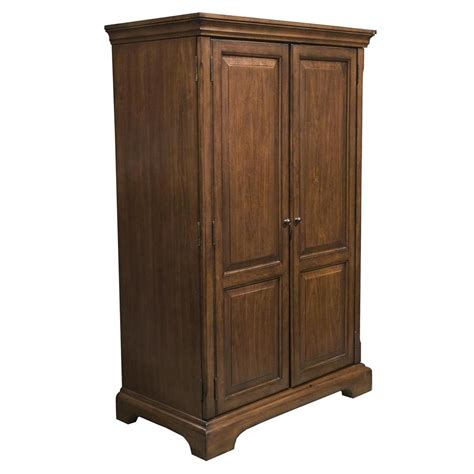 riverside furniture cantata traditional computer armoire