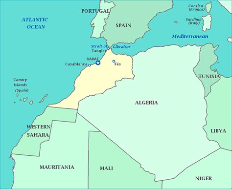yourchildlearns africa map htm map of morocco africa