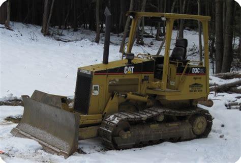 caterpillar cat nh black caterpillar d3 dozer site work heavy equipment septic