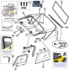 2007 Jeep Wrangler Soft Top Parts Interactive Diagram Mopar Soft Top Hardware For Jeep