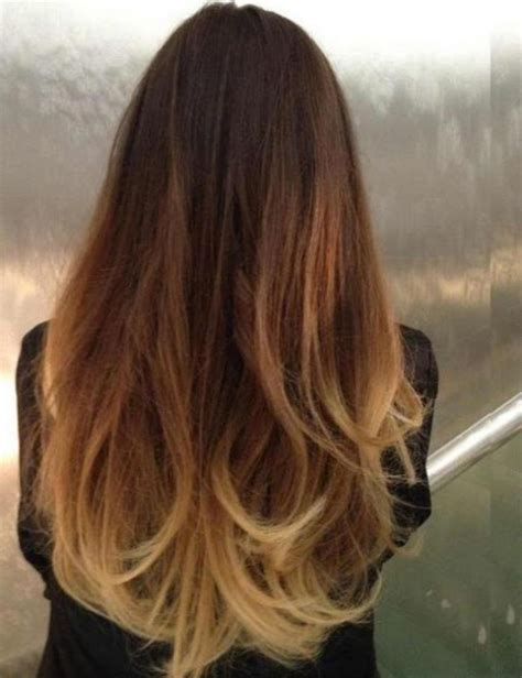 Karamel Maxi black brown ombre hair hairstyle hits pictures