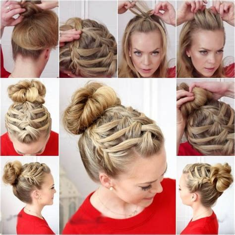 step by step braid short hair pictures hair tutorials google search so totally me