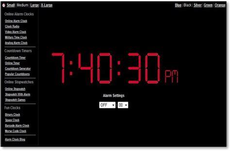 online clock top 15 of the best online alarm clock websites