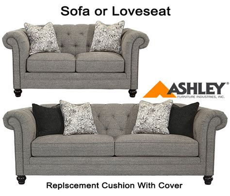 ashley furniture couch cushions ashley 174 ardenboro replacement cushion cover 6300338 sofa