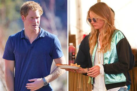 glastonbury pizza house exclusive prince harry misses out on seeing cressida bonas at glastonbury daily star