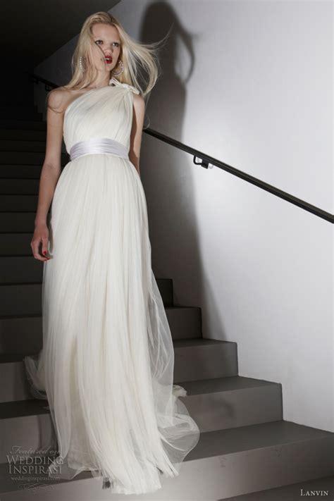 Lanvin Wedding Gown by Lanvin Resort 2012 Dresses Wedding Inspirasi