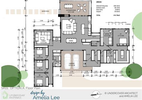 pavillion house plans spotlight a pavilion home for a family of 5 undercover architect