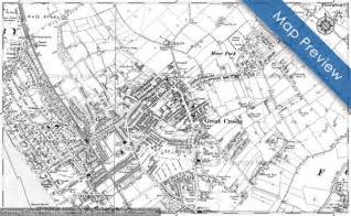 crosby map maps of crosby francis frith