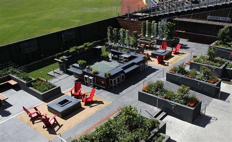 Sf Garden Supply by San Francisco Giants And Bon App 233 Open Garden At At T