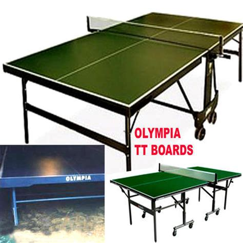 Table Tennis Board by Indoor Equipment Olympia Table Tennis Board Manufacturer From Kolkata