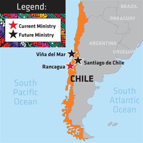 south america map chile chile