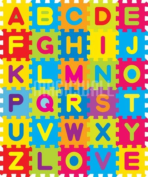 alphabet mat wall murals wall decals posters prints