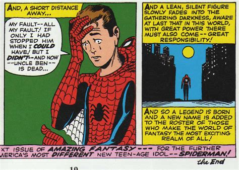 And Their Comics the spider moments that are most like their