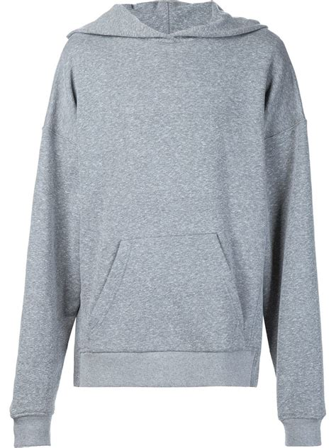 Sweater Hoodie Fear Of God Black Premium fear of god the everyday hoodie in gray for lyst