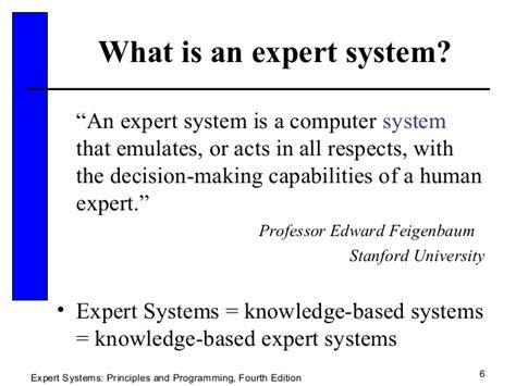 expert system expert system 21 sldes