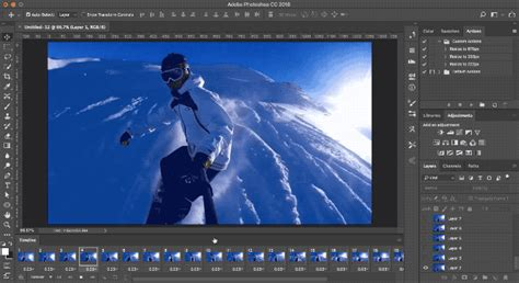 how to layer gifs how to make an animated gif in photoshop