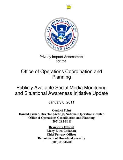 Office Operations by 78027077 Office Of Operations Coordination And Planning