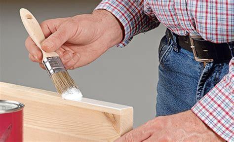 Richtig Lackieren Holz by Richtig Lackieren Lackieren Streichen Selbst De