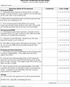rating template the applicant rating sheet can help you make a