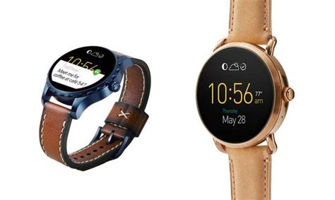 fossil to launch q marshal q wander and one other series of connected smartwatches gizbot