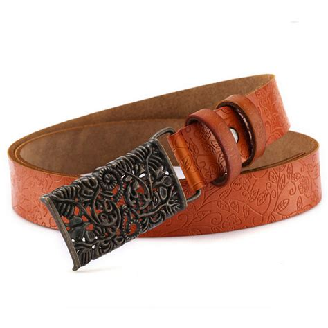 wholesale and retail genuine leather belt fashion