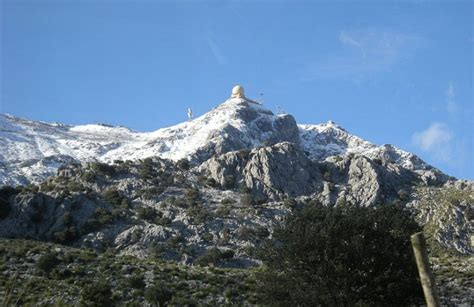 Puig Major (from Soller) ? Cat 1 / 14km / 6%   (Mallorca)