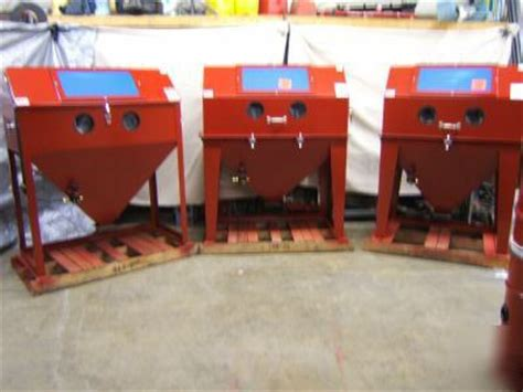48 x 24 sandblaster large sand blast cabinet usa made