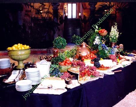 buffet displays buffet display table settings