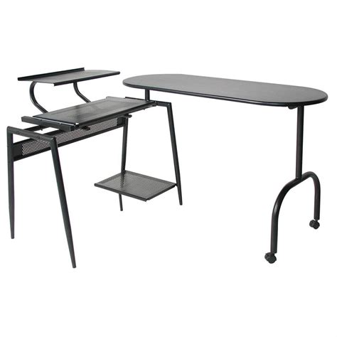 swing arm desk l home styles 174 deluxe swing arm open desk 163287 office