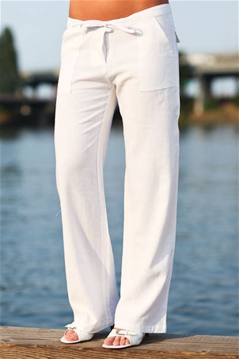 linen yoga pants pattern white linen pants for women with beautiful creativity in