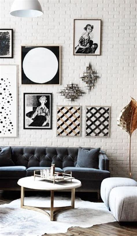 black and white home decor ideas black and white gallery wall ideas