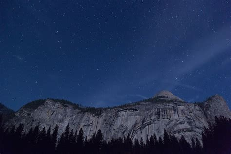 by night the mountain mountain range night stars 183 free photo on pixabay
